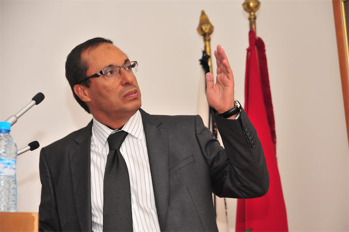 عبد القادر اعمارة وزير الطاقة والمعادن والماء والبيئة - ارشيف