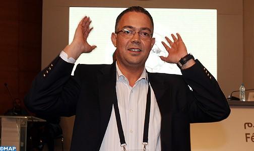 فوزي لقجع رئيس الجامعة المغربية لكرة القدم - ارشيف
