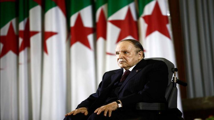 الرئيس الجزائري عبد العزيز بوتفليقة - ارشيف