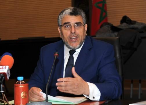وزير العدل والحريات مصطفى الرميد - ارشيف