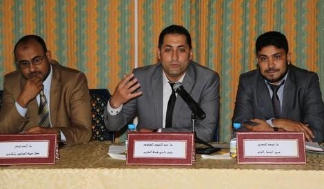 عبد اللطيف الشنتوف رئيس نادي قضاة المغرب - ارشيف