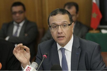 وزير الاقتصاد والمالية محمد بوسعيد - ارشيف