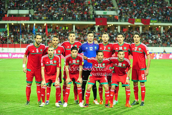 المنتخب الوطني المغربي- اليوم24- تصوير رزقو
