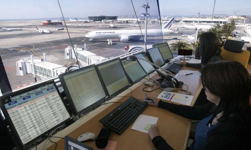 أحد مطارات المملكة - ارشيف