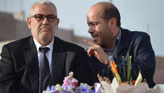 خالد البوقرعي و عبد الاله ابن كيران بنكيران تصوير سامي سهيل