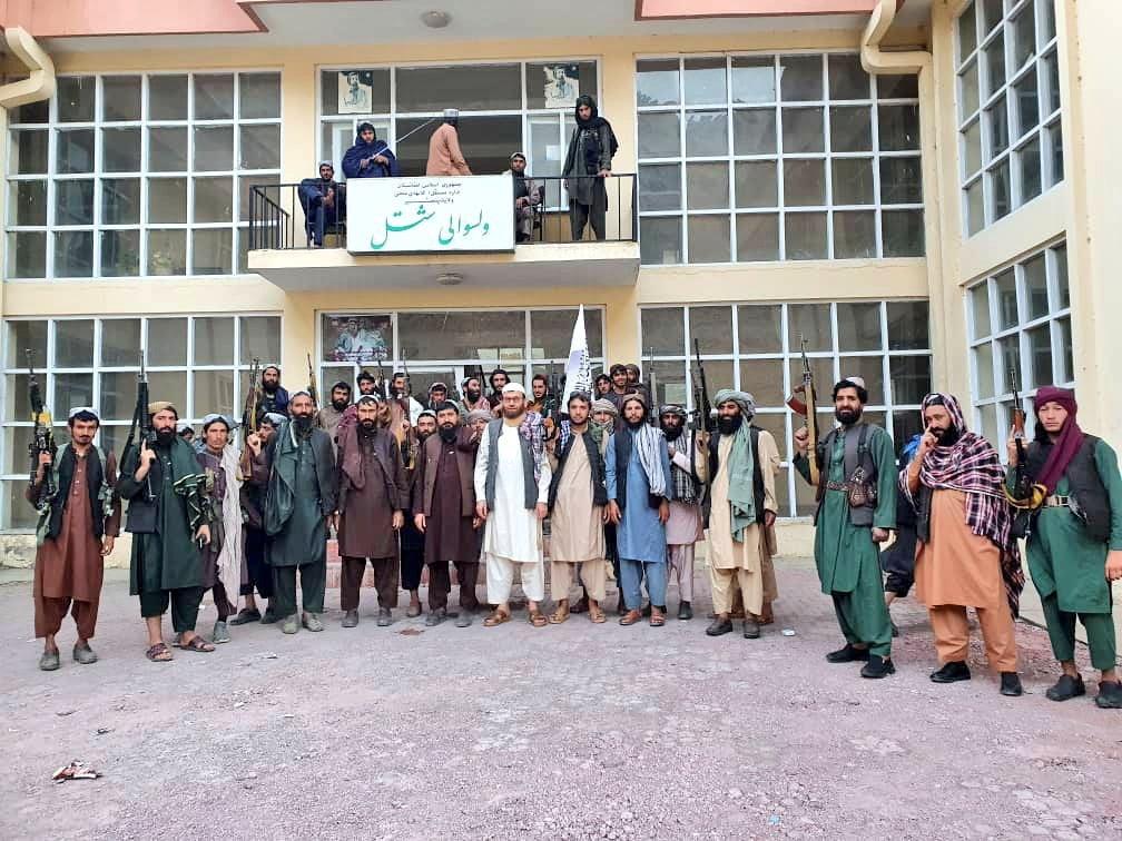 صورة من سيطرة طالبان على إقليم بنشجير (تويتر)